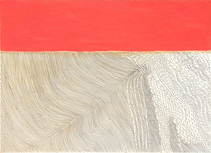 Wilhelmina Barns-Graham, Winter Movement (Desert), 1979. Part of the Linear Meditations exhibition.