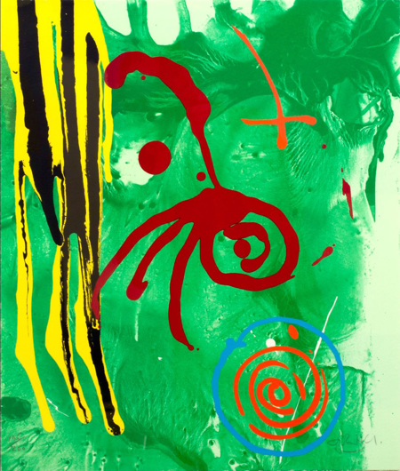 John Hoyland, The Gnome, 2004.