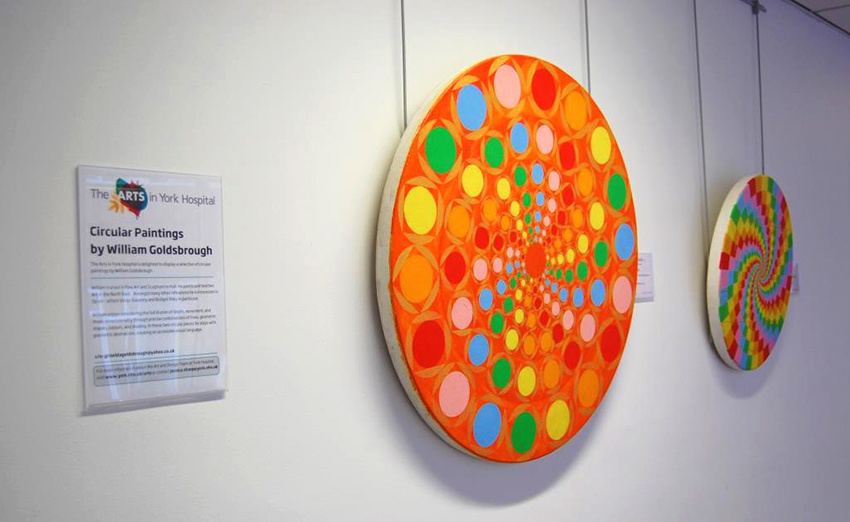 Circular Paintings - William Goldsbrough