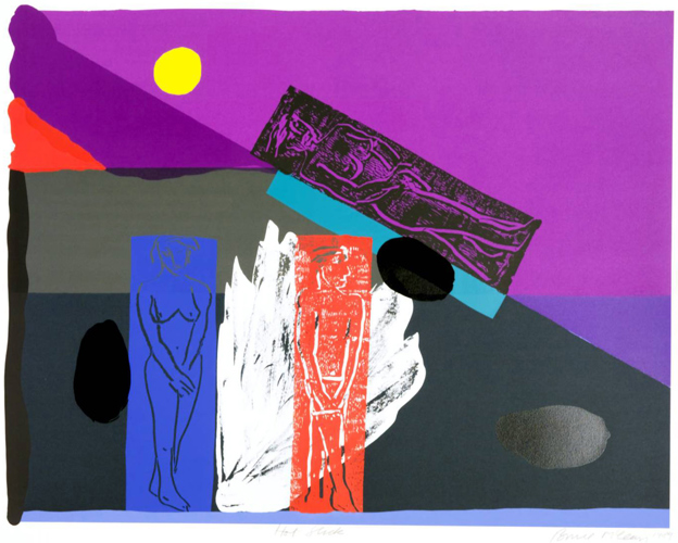 Bruce McLean, Hot Slick, 1989. Part of the Paintings in Hospitals collection.