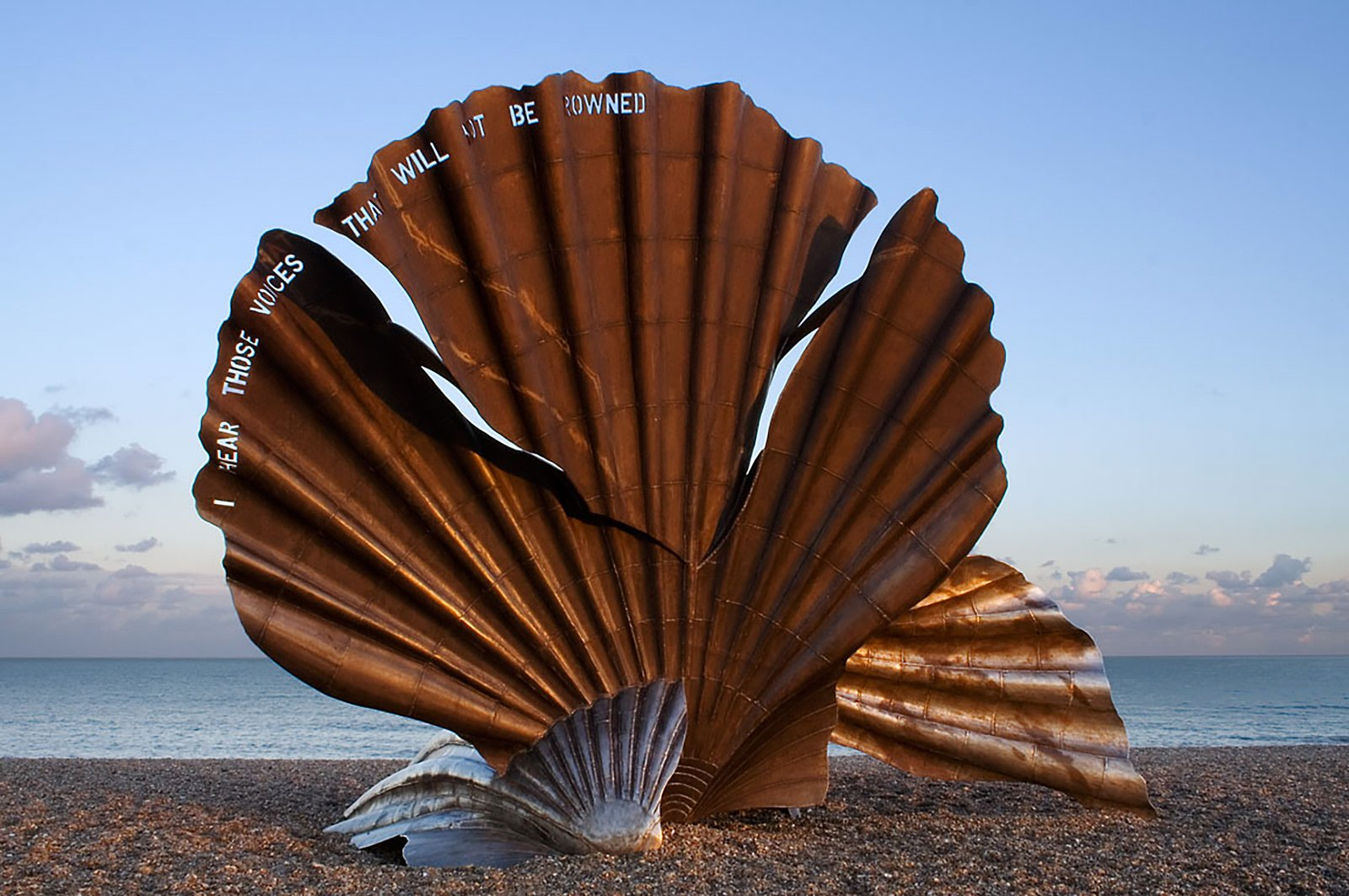 The Scallop by Maggi Hambling, 2003.