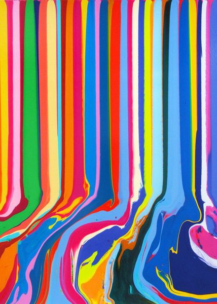 Ian Davenport, Chromatastic Paintings in Hospitals, 2016