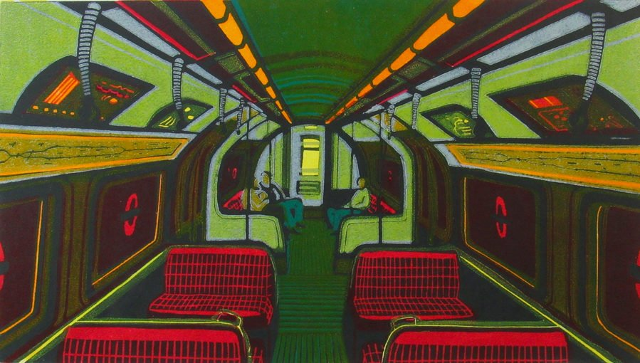 Gail Brodholt, Night Owls on the Northern Line, 2007