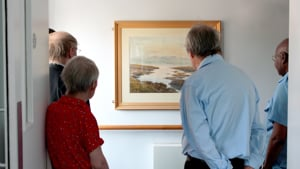 C&C Housing Trust residents enjoy a Paintings in Hospitals Art Walk.