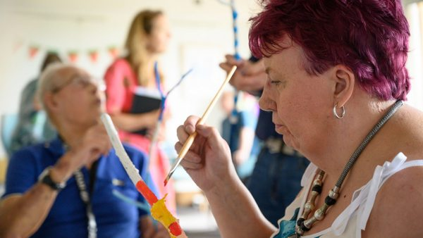 Sticks & Stories: Bringing art to St Michael's Hospice