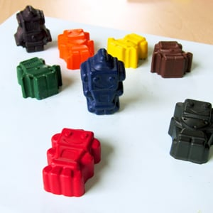 Robot Crayons by Colour Me Fun