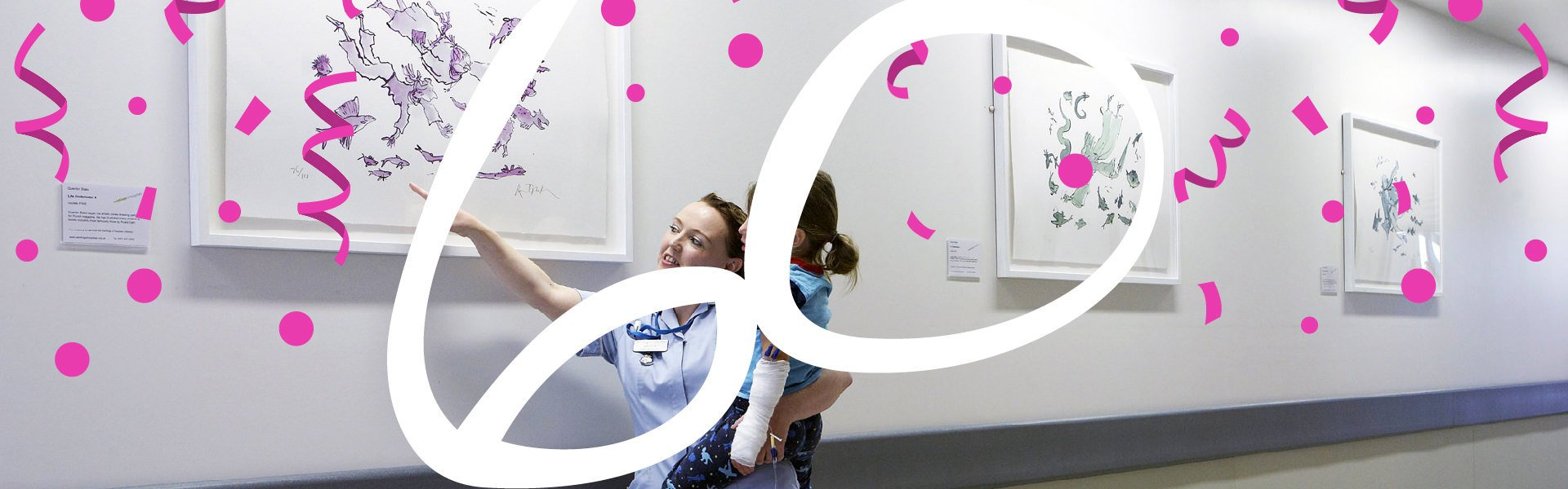 2019 is Paintings in Hospitals 60th anniversary. Can you help us raise £60,000 to inspire and uplift patients and carers across the country?