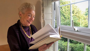 Dame Stephanie Shirley reading her new book So To Speak.