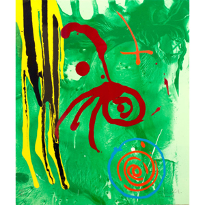 John Hoyland: 'The Gnome'