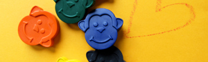 Monkey Crayons by Colour Me Fun