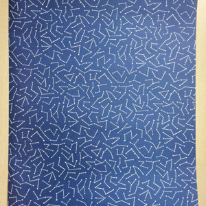 Stars on a Blue Night Sky Wrapping Paper