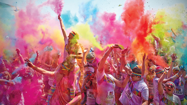 Why I ran the Color Run for Paintings in Hospitals
