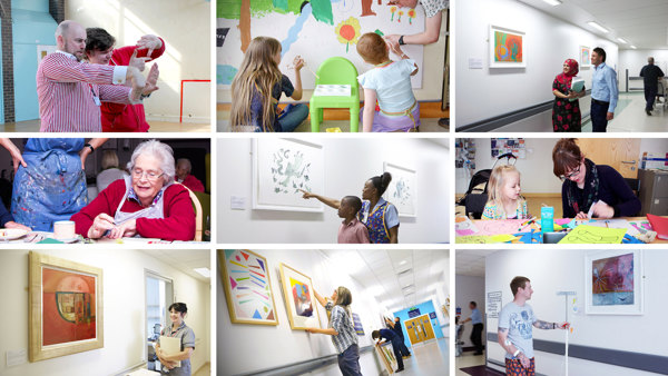 Paintings in Hospitals began in 1959. We have dedicated 60 years to inspiring hope and improving health through art.
